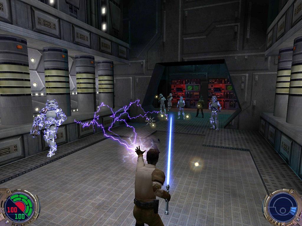 Star Wars Jedi Knight II: Jedi Outcast - pořádně ostré retro – Doupě.cz