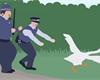 Otravná husa se v Untiteled Goose Game přiřítí i na konzole