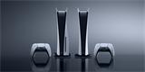 Playstation 5 i s příslušenstvím na fotografiích ve vysoké kvalitě