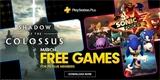 PS Plus hry na měsíc březen odhaleny, budete bojovat s bájnými kolosy