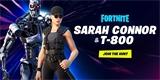 Fortnite láká na další crossover, tentokrát jde o Sarah Connor a Terminátora