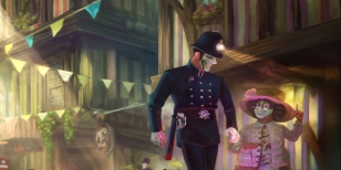 Atmosférická hříčka We Happy Few je dostupná v programu Early Access