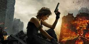 Mila kosí zombíky ve filmu Resident Evil: The Final Chapter