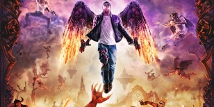 Ulice plné chaosu v Saints Row IV: Gat Out of Hell