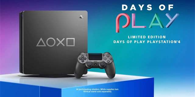 Days of Play edice konzole PlayStation 4