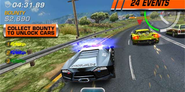 Need for Speed Hot Pursuit iPhone - majáčky a pokuty (recenze)