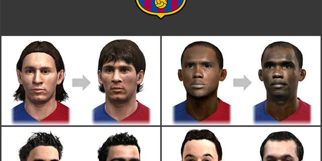 Liverpool vs. Barca v PES 2010