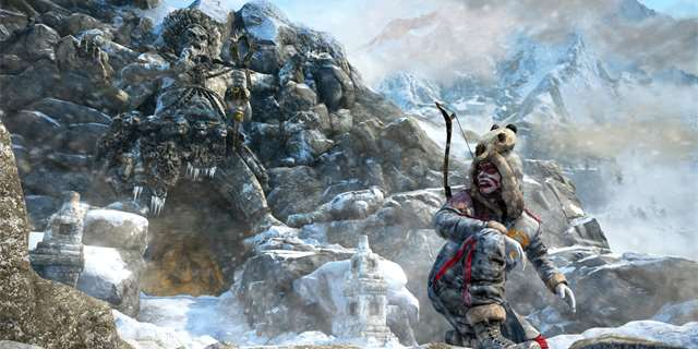 Valley of the Yetis DLC k Far Cry 4 je plné akce