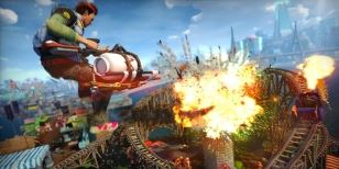 Stahujte Dawn of the Rise of the Fallen Machines DLC do Sunset Overdrive