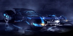 Do Rocket League míří nové vozidlo – legendární Batmobile