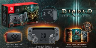 Oznámen konzolový bundle Diablo III: Eternal Collection pro Switch