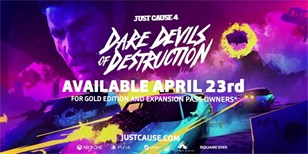 Dare Devils of Destruction DLC zamíří do Just Cause 4 už koncem dubna