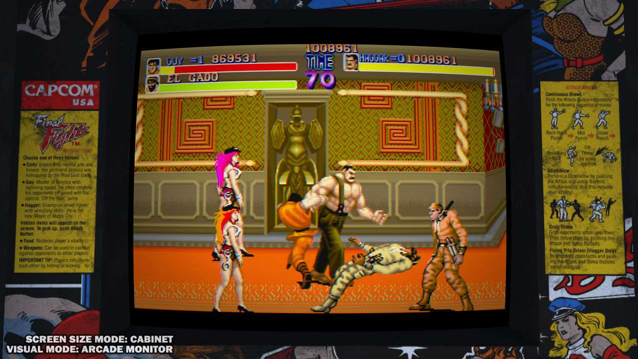 Galerie - Final Fight: Double Impact pro XBL a PSN – Doupě.cz