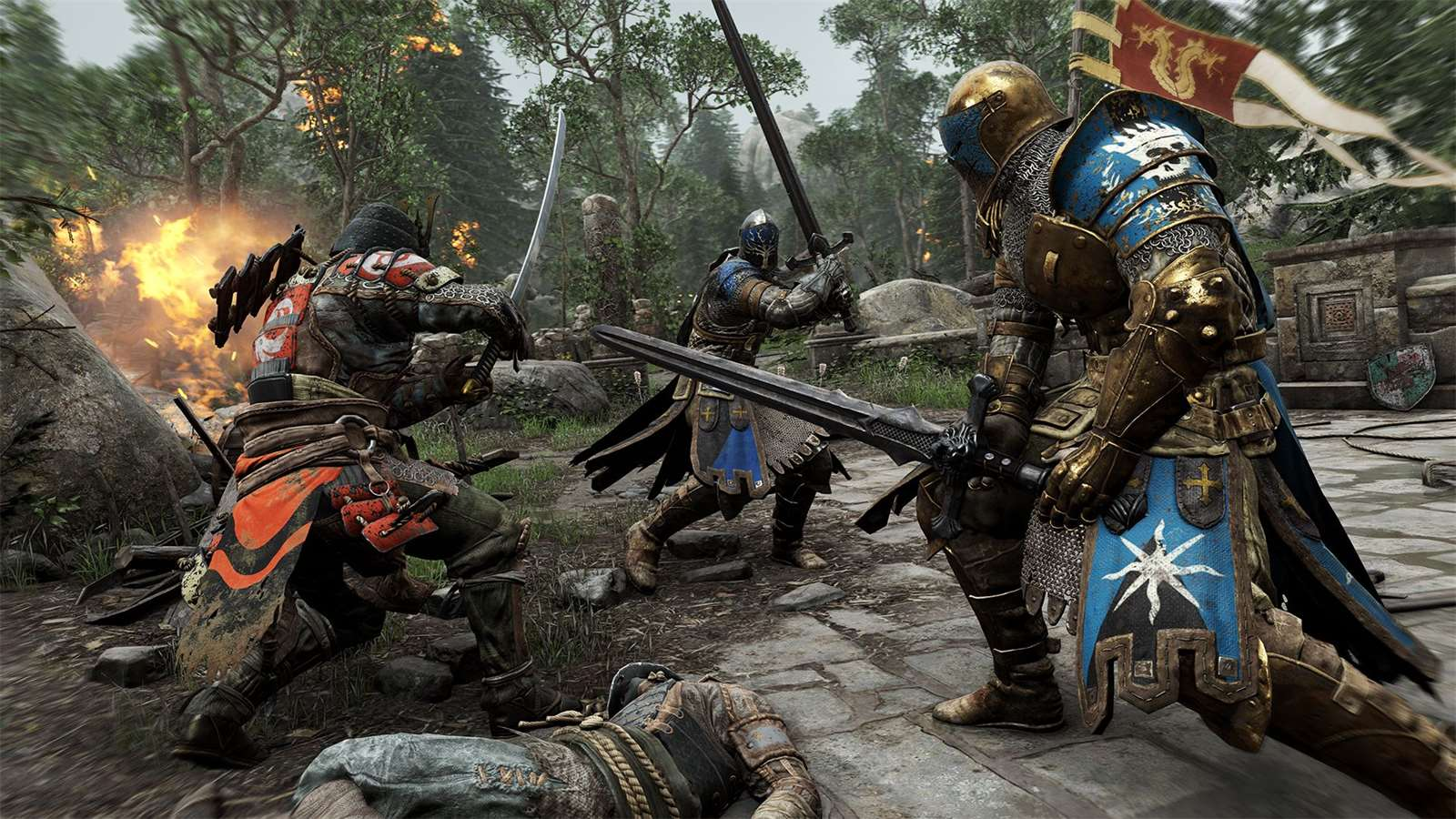 Galerie - Ubisoft oznamuje For Honor pro PS4, Xbox One a PC – Doupě.cz
